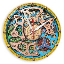 Ll clock handcrafted vintage steampunk gothic woodandroot antique personalized gift 0 1 thumb200