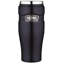 Coffee Mugs Stainless Steel King 16-Ounce Travel Tumbler Thermos Coffee ... - $34.64