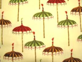 Michael Miller Fabrics Umbrellas Colorful Fun Cotton Fabric  1 yd - $7.95