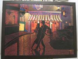 Frank Walcutt Night Dance Painting Canvas Signed Framed - $199.99