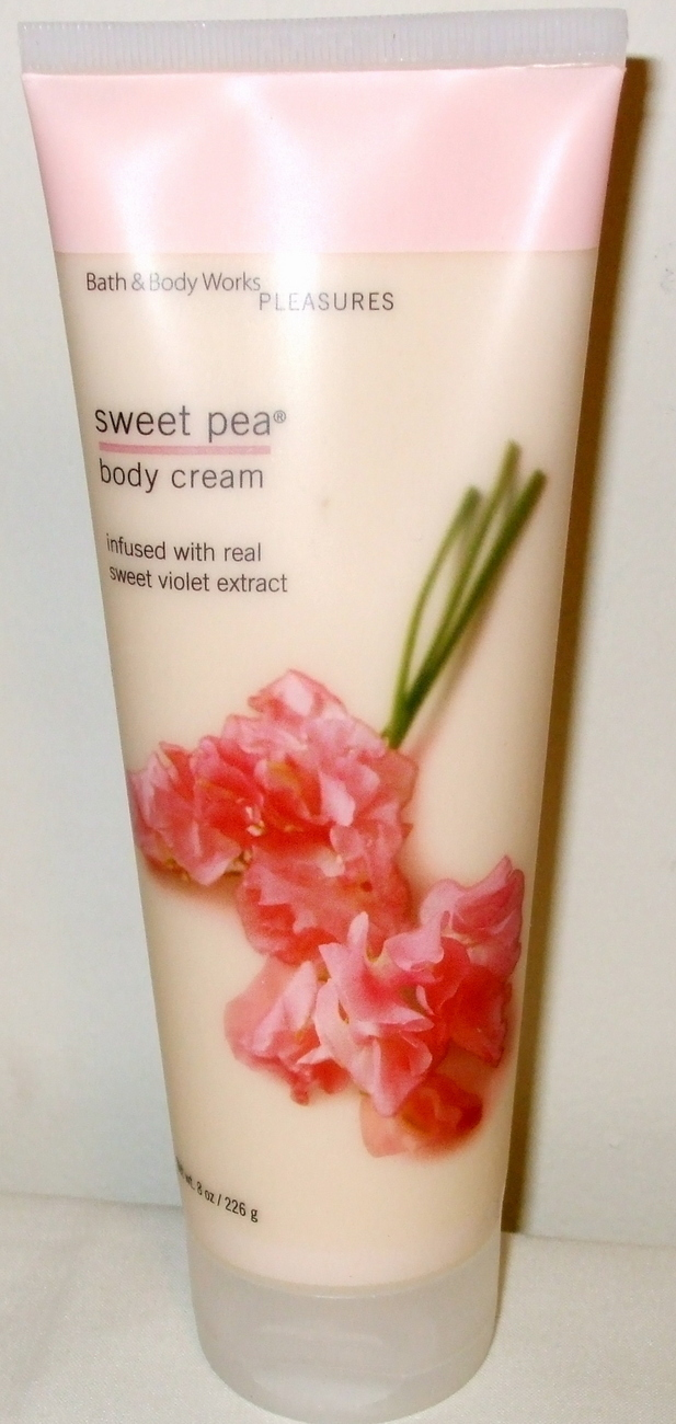 Sweet pea body cream