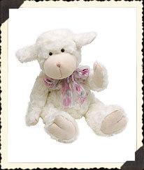 NEW Boyds Liza Fuzzyfleece Bear Easter Bunny 55203-01