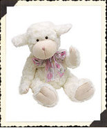 NEW Boyds Liza Fuzzyfleece Bear Easter Bunny 55203-01 - $15.00