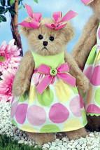 """Bearington Bears """"Bella Buttons"""" 10"""" Plush Collectible Bear- #143252 NWT- 2012 - $23.99"""