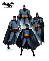 DC Collectibles Batman 75th Anniversary Action Figure 4-Pack Set 1 - $153.23