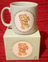 Beary Best Office Secretary Pastel Blue Coffee Cup Mug Applause Teddy Be... - $17.99