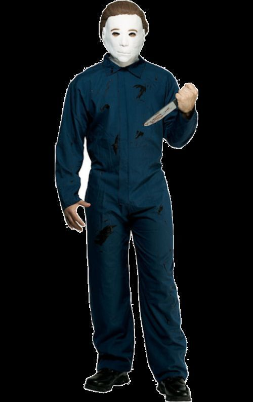 Michael Myers Halloween Coveralls Adult 46-48 New