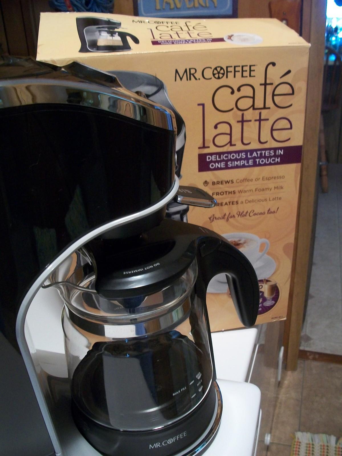 Mr. Coffee Café Latte Coffee and Expresso Machine - in original box