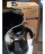 Mr. Coffee Café Latte Coffee and Expresso Machine - in original box - $55.00