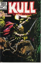 Kull The Conqueror #2 - March 1983 - Marvel Comics Group - The Blood of Kings. - $0.97