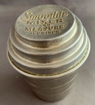 Vintage Antique Smoothie Aluminum Mixer & Measure Shaker 1950s - $12.50