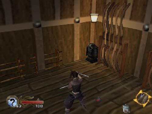 Tenchu -Shinobi Gaisen (Rittai Ninja Katsugeki) Playstation One PS1 Import Japan