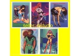The Woron's Universe Promo 5 card PROMO Set~Rare Undistributed Woron cha... - $12.86