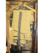Polar Edge Platinum Mens Med Pants Inseam 31 Removable Suspenders Lined - $22.00