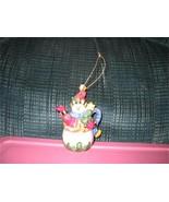 Teapot Ornament Frosty Snowman Emily Brookshire mint collectors 2003 - $6.50