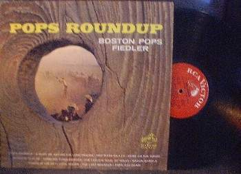 Fiedler & Boston Pops - Pops Roundup - RCA Records (Red Seal) LSC-2595