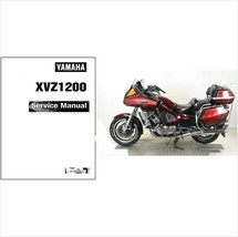 1983-1993 Yamaha Venture Royale 1200 ( XVZ1200 ) Service Manual on a CD - $12.99
