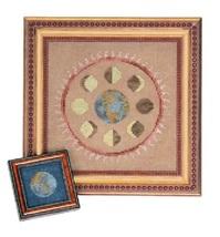 Lunation  cross stitch chart Ink Circles  - $7.20