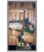 ~Primitive  Antique Bobbin Mailbox Spring Easter Chicks & Eg - $59.95