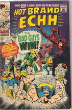 Not Brand Echh Comic Book #4 Marvel Comics 1967 VERY FINE - $25.07