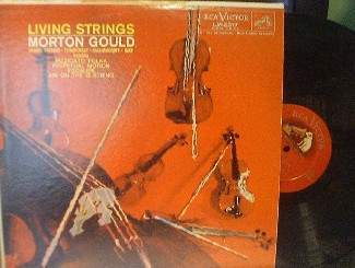 Morton Gould & Orchestra - Living Strings - RCA LM 2317