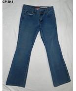Z Cavaricci Size 7 Blue Denim Low Rise Jeans - $13.99