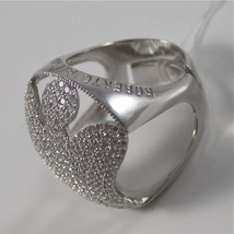 925 SILVER RING WITH BIG CENTRAL ANGEL MADE IN ITALY BY ROBERTO GIANNOTTI GIA139