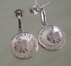 Roberto GIANNOTTI Earrings ANGELS Silver and Cubic Zirconia image 1