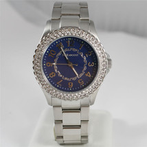 REBECCA WATCH AGROBA15, STAINLESS STEEL STRAP AND CASE WITH CRYSTALS, BLUE