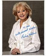 8 x 10 Autographed Photo of Barbra Walters RP - $1.99