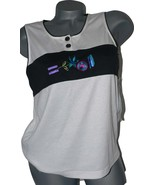 NWT NATTY California tennis tank top womens shi... - $17.99