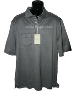 NWT FAIRWAY & GREENE polo golf shirt XL herring... - $53.99