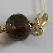 .925 RHODIUM YELLOW GOLD PLATED SILVER  BRACELET WITH QUARTZ image 3