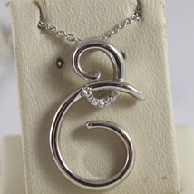SOLID 18K WHITE GOLD NECKLACE WITH TRIBAL PENDANT DIAMONDS DIAMOND MADE ... - $398.34