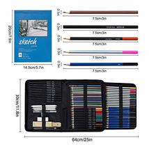K Kwokker 71 Art Supplies 5 Type Pencils Sketching Drawing Painting Coloring Pen image 2
