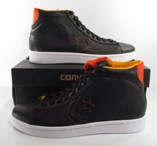 Converse Pro Leather Plus Mid WBF BLACK Barcelona Spain BCN 134764C RARE! - $52.47