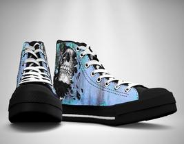 Hidden Skull  Canvas Sneakers Shoes - $49.99