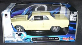 Maisto 1965 Chevrolet Malibu SS CREAM Diecast Car NEW! 1:24 Scale - $29.96