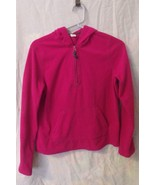 Girls Old Navy Pink Long Sleeve 1/4 Zip Hooded ... - $6.00