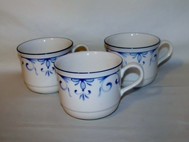 Lenox Country Blue 3 Cups - $9.00
