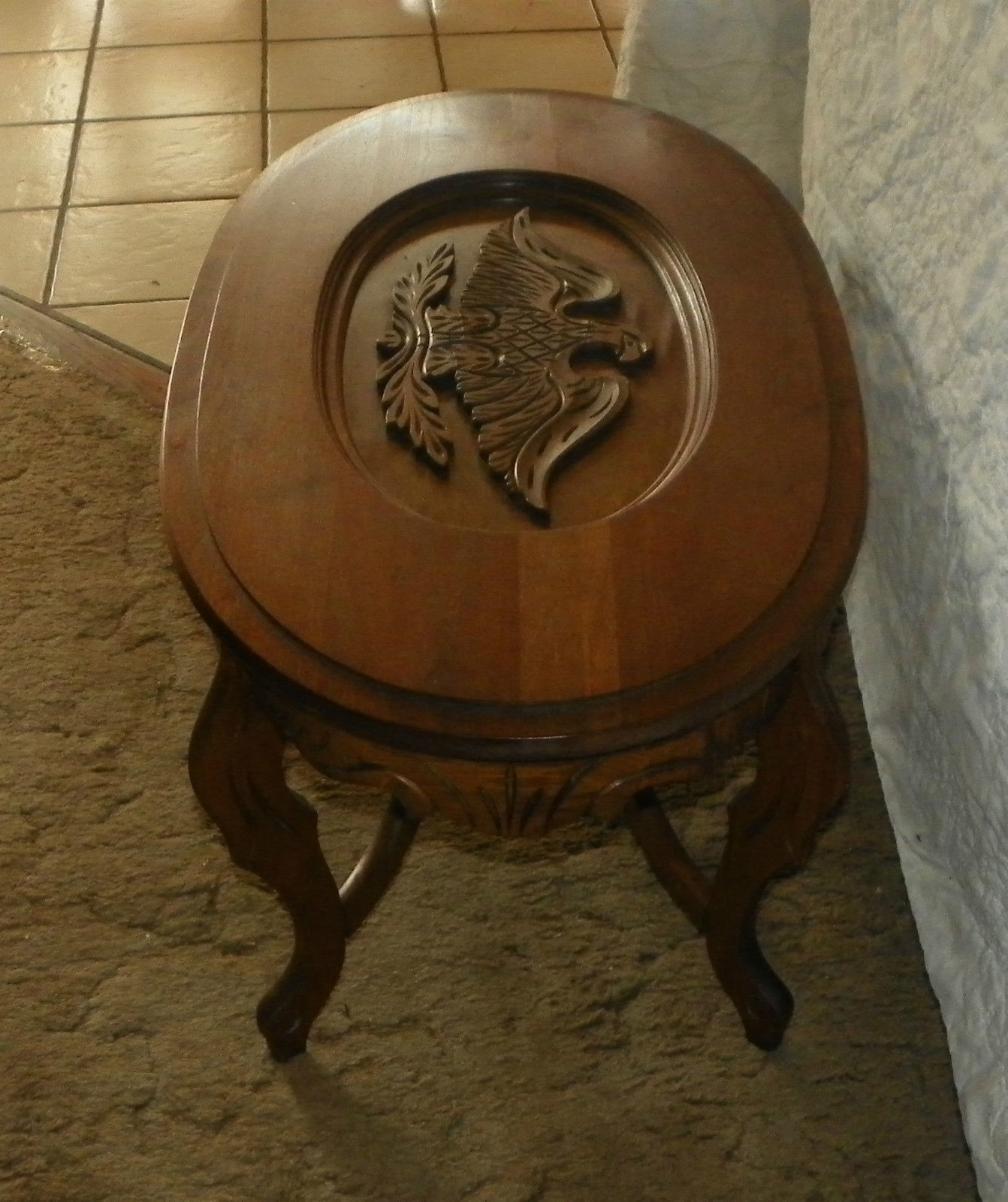 Walnut Eagle Carved Coffee Table (CT7) And 50 Similar Items