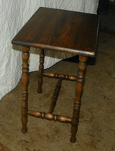 Mahogany Side Table / End Table  (T313) - $199.00