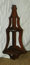 Solid Walnut Corner Shelf - $149.00