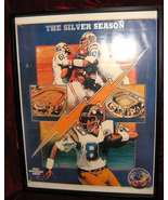 San Diego Chargers AFL 25th Anniversary Patch & Poster - $55.00