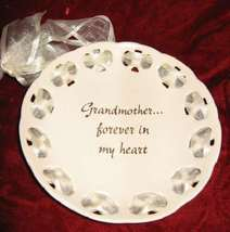 RUSS Grandmother Forever in my Heart Decorative Plate - $22.50