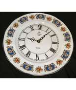 St. Louis Bone China Kienzle Quartz Plate Clock England - $65.00