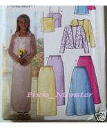 Butterick Pattern 3718 Girls Dress 7 to 16 Plus Size - $2.99