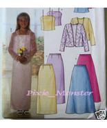 Butterick Pattern 3718 Girls Dress 10.5 to 16.5 Plus - $2.99
