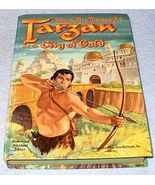 Vintage Whitman HC Book Tarzan City of Gold 1954 - $7.95