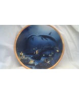Kissing Dolphins - Mammals, Fish,  Sea, Collector Plates, Hamilton Colle... - $22.50